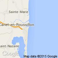 plage Canet en Roussillon