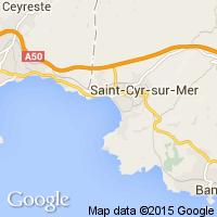 plage Saint-Cyr-sur-Mer