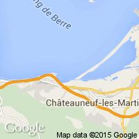 plage Châteauneuf lès Martigues