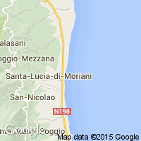 plage Santa Lucia di Moriani