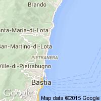plage San Martino di Lota