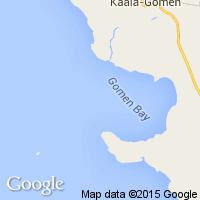 plage Gomen (Baie)