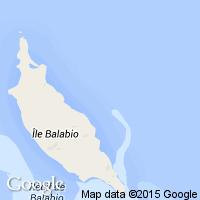 plage Balabio (Ile)